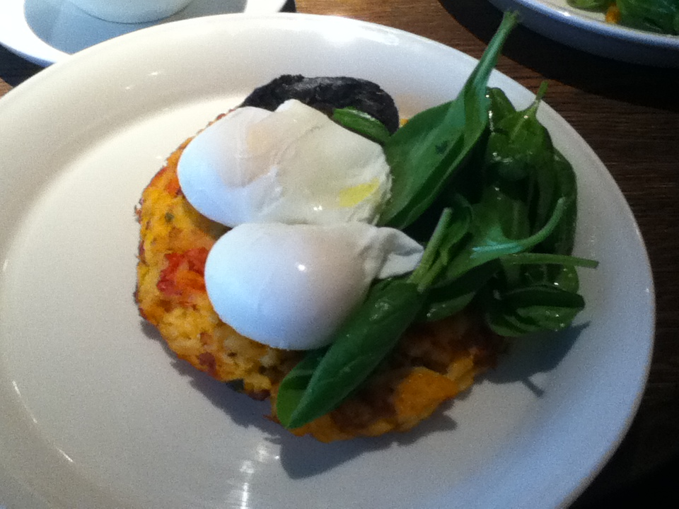Chorizo Hash Brown The Riding House Cafe