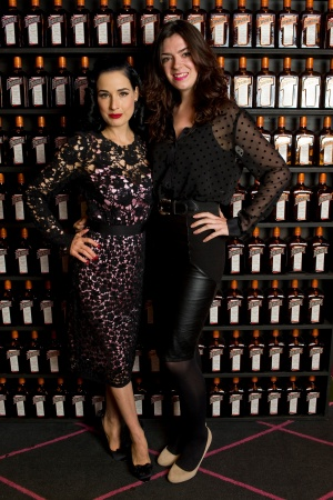 The very fabulous Dita Von Teese with Olivia Fisher