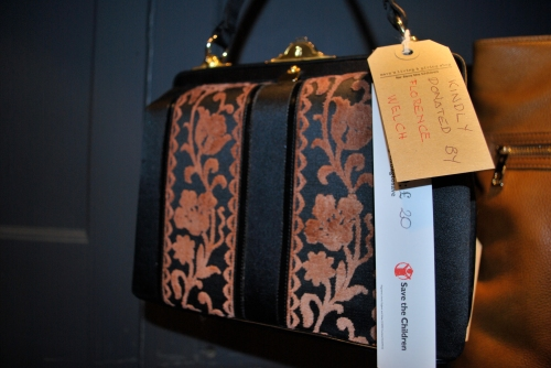 Florence Welch's vintage Handbag at Bag to Save a Life Auction