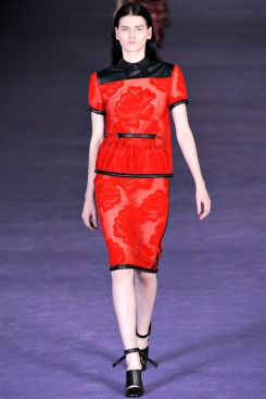Christopher Kane AW12 Red