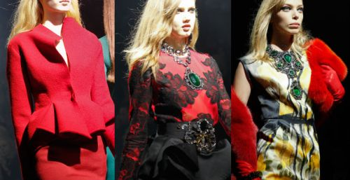 Lanvin AW12 Red